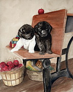 Puppies Originals - School Days by Nancy Patterson