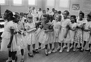 1950s Candids Photos - School Integration, Washington Dc by Everett