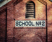 Schoolhouse Posters - School No. 2 Poster by Lisa Russo