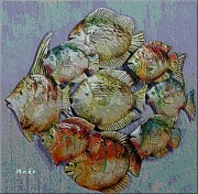 Anke Wheeler - School of Fish