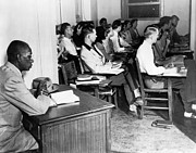 School Segregation, 1948 Print by Granger