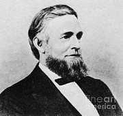 Us Representative Posters - Schuyler Colfax Poster by Photo Researchers