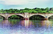 Schuylkill River Print by Bill Cannon