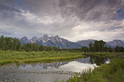 Riffle Prints - Schwabachers Landing Shoals in Jackson Hole Print by AM Ruttle