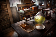 Scientific Art - Science - Chemist - Scientific Discoveries  by Mike Savad