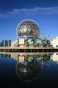 Telus Prints - Science World Print by Chris Dutton