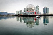 Geodesic Prints - SCIENCE WORLD telus world of science vancouver bc canada Print by Andy Smy