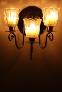 Soft Lighting Prints - Sconces Print by Kristin Elmquist