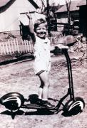 Kid Photos - Scooter 1941 by Don Wolf