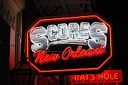 Scores Prints - Scores Neon  Print by Armand Hebert
