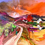 Travel  Mixed Media - Scotland 02 by Miki De Goodaboom