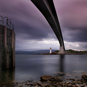 Highlands Posters - Scotland Skye Bridge Poster by Nina Papiorek