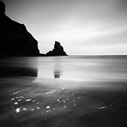 Whiskey Prints - Scotland talisker Bay Print by Nina Papiorek