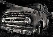 Antique Digital Art Originals - Scotopic Vision 6 - 53 Ford by Pete Hellmann