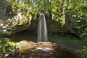 Michigan Waterfalls Prints - Scott Falls 4750 Print by Michael Peychich
