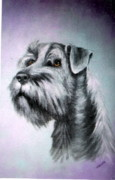 Scottie Paintings - Scottie Terrier by Felix Turner