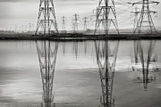 Pylon Framed Prints - Scottish Power Framed Print by Billy Currie Photography