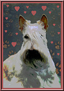 Scottish Terrier Puppy Prints - Scottish Terrier Print by One Rude Dawg Orcutt