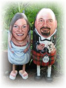 Wedding Sculptures - Scottish Wedding by Cathi Doherty