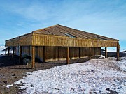 Research Photo Originals - Scotts Hut - McMurdo by David Barringhaus