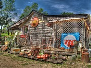 Log Cabin Photos - Scrap House by Jimmy Ostgard