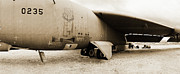 Airfield Originals - Scrapped B-52  by Jan Faul