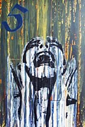 Industrial Mixed Media Prints - Scream 1 Print by Iain Barnes