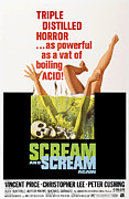 Horror Movies Posters - Scream And Scream Again, 1-sheet Poster Poster by Everett