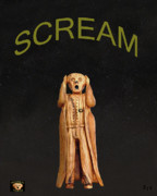 Protest Mixed Media Prints - Scream Print by Eric Kempson
