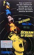 Terrified Posters - Scream Of Fear, Aka Taste Of Fear Poster by Everett