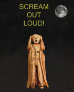 Protest Mixed Media Prints - Scream Out Loud Print by Eric Kempson