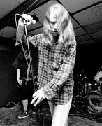 Kurt Cobain Photos - Screaming Trees 1991 concert photo no.1 by J Fotoman