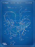 Toy Dog Posters - Scuba Doggie Patent Artwork 1893 Poster by Nikki Marie Smith