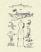 1876 Drawings Posters - Scuba Suit 1876 Patent Art Poster by Prior Art Design