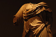 Greek Sculpture Prints - Sculpture Olympia 1 Print by Bob Christopher