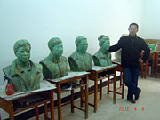 Works Sculptures - Sculpture Room by Lihuabing Lihuabing