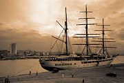 Navigate Framed Prints - Sea Cloud II Framed Print by Gaspar Avila