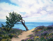 Laura Iverson - Sea Coast at Half Moon Bay