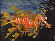 Sea Dragon Paintings - Sea Dragon by Donna Reaves