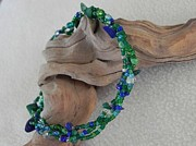 Malachite Jewelry - Sea Green Anklet by Robin Aitken Hardy