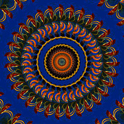 Gypsy Digital Art - Sea Gypsy Mandala by Bill Barber