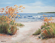 Oats Originals - Sea Oats and Sunshine by Glenda Cason