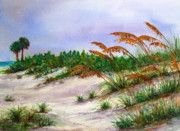 Suzanne Krueger - Sea Oats in the Dunes