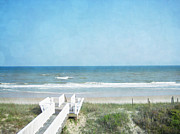 Topsail Island Photo Posters - Sea of Dreams Poster by Andrea Hazel Ihlefeld