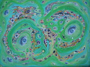 Award Mixed Media Originals - Sea of Eyes by Douglas Fromm