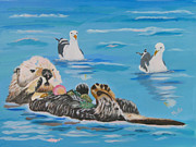 Phyllis Kaltenbach - Sea Otter and Guardians