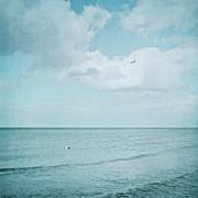 sea square VIII Print by Iris Lehnhardt