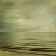 sea square XI Print by Iris Lehnhardt