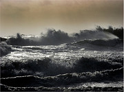 Storm Prints Originals - Sea Storm 666 by Mirza Ajanovic