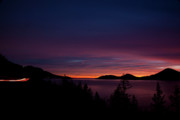 Porteau Cove Posters - Sea to Sky Sunset Poster by Monte Arnold